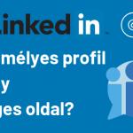 LinkedIn Céges oldal