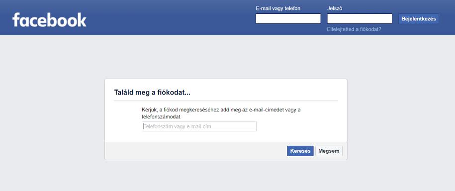 Facebook letiltás – avagy mit tehetsz, hogy visszaszerezd fiókodat 1