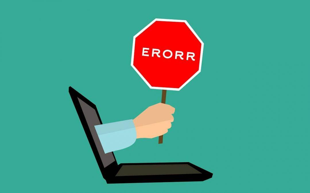 weboldal készités hibák